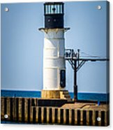 St. Joseph Outer Lighthouse Photo Acrylic Print by Paul Velgos