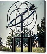 St. Joseph Whirlpool Compass Fountain Water Cannon Acrylic Print by Paul Velgos