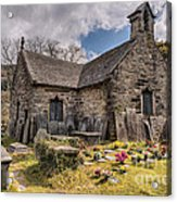 St Michaels Church Acrylic Print by Adrian Evans