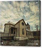 St. Pauls Anglican Church Acrylic Print by Priska Wettstein