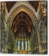 St Peter's Church Vertorama Acrylic Print by Ian Mitchell