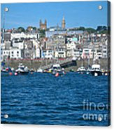 St Peters Port Guernsey  Acrylic Print by Phyllis Kaltenbach