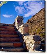 Stairway To Acrylic Print by Glenn McCarthy Art and Photography