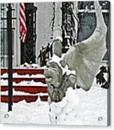 Standing Watch  Acrylic Print by Chris Berry