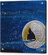 Star Sailing By Jrr Acrylic Print by First Star Art