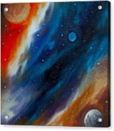Star System 2034 Acrylic Print by James Christopher Hill