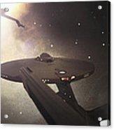 Star Trek Standoff Acrylic Print by Jason Politte