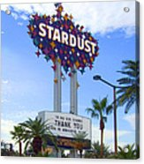 Stardust Sign Acrylic Print by Mike McGlothlen