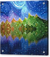 Starfall Acrylic Print by First Star Art