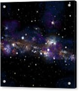 Starfield No.122712 Acrylic Print by Marc Ward