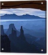 Starlit Mesa  Acrylic Print by Dustin  LeFevre