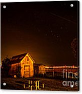 Starry Starry Night Acrylic Print by Patricia Trudell