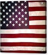 Stars And Stripes Acrylic Print by Les Cunliffe
