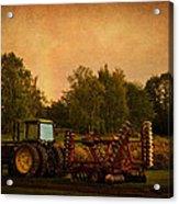 Starting Over - Vintage Country Art Acrylic Print by Jordan Blackstone
