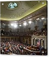State Of The Union Acrylic Print by JP Tripp