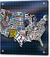 States Acrylic Print by Robert Smith