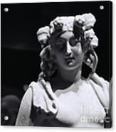 Statue Of Dionysus Acrylic Print by Catherine Fenner