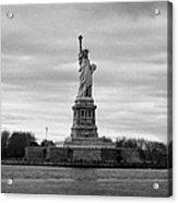 Statue Of Liberty Liberty Island New York City Acrylic Print by Joe Fox