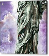 Statue Of Liberty Part 3 Acrylic Print by Ginette Callaway