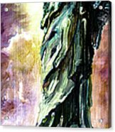 Statue Of Liberty Part 4 Acrylic Print by Ginette Callaway