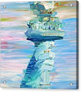 Statue Of Liberty - The Torch Acrylic Print by Fabrizio Cassetta