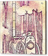Steam Legacy Acrylic Print by Patricia Howitt