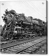 Steam Locomotive Crescent Limited C. 1927 Acrylic Print by Daniel Hagerman