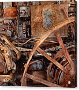 Steampunk - Machine - The Industrial Age Acrylic Print by Mike Savad