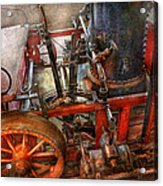 Steampunk - My Transportation Device Acrylic Print by Mike Savad