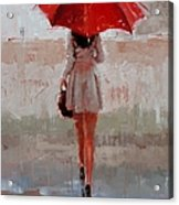 Stepping Out Acrylic Print by Laura Lee Zanghetti