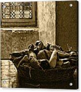 Still Life At Chenonceau Acrylic Print by Nikolyn McDonald