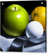 Still Life Eclectic 2 Acrylic Print by Cecil Fuselier
