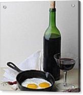Still Life With Eggs Acrylic Print by Krasimir Tolev
