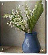 Still Life With Fresh Flowers Acrylic Print by Jaroslaw Blaminsky