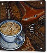 Still Life With Ladies Bike Acrylic Print by Mark Howard Jones