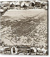 Stockton San Joaquin County California  1895 Acrylic Print by California Views Mr Pat Hathaway Archives