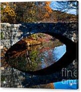 Stone Bridge Acrylic Print by Jim  Calarese