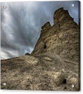 Stone Tower Acrylic Print by Garett Gabriel