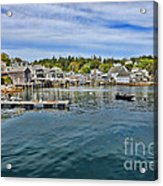 Stonington In Maine Acrylic Print by Olivier Le Queinec
