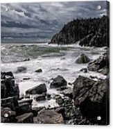 Storm At Gulliver's Hole Acrylic Print by Marty Saccone