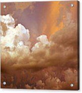Storm Clouds Acrylic Print by Andrea Kelley