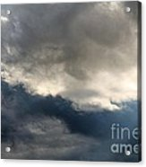Storm Clouds Acrylic Print by J McCombie