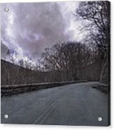 Stormy Blue Ridge Parkway Acrylic Print by Betsy C Knapp