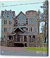 Straits Of Mackinaw Acrylic Print by MJ Olsen