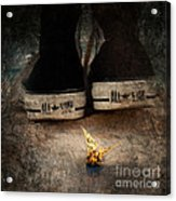 Strange Cold Feeling Acrylic Print by Stelios Kleanthous