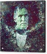 Strange Fellow 2 Acrylic Print by James W Johnson