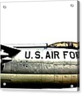 Stratojet Acrylic Print by Benjamin Yeager