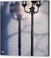 Street Lamp At Night Acrylic Print by Oleksiy Maksymenko