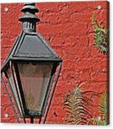 Street Lamp Acrylic Print by Jeanne  Woods