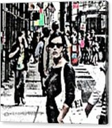 Streets Of Nyc 19 Acrylic Print by Mario Perez